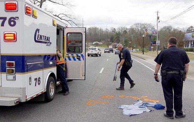 2WEB bicyclist hit marking area