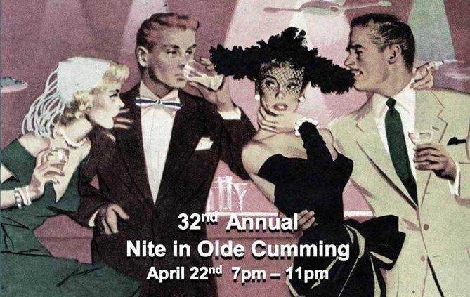 night in olde cumming flyer WEB