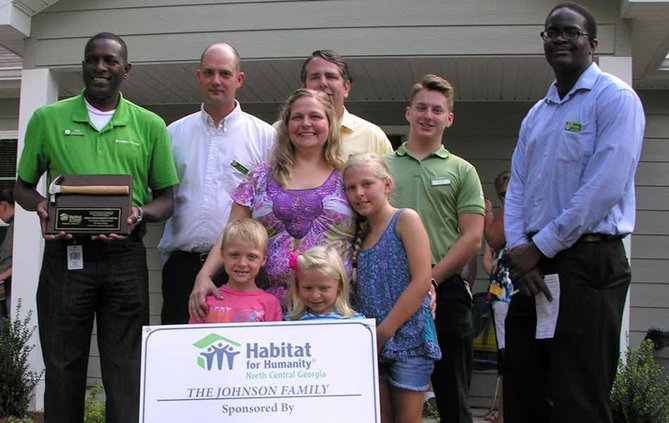 Two Habitat homes dedicated in north Forsyth - Forsyth News