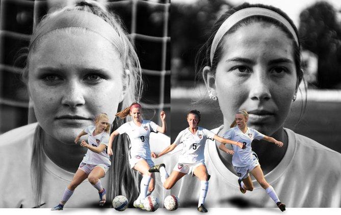 Lambert girls soccer illustration