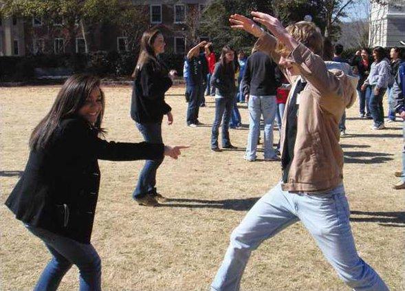 UGA Day action photo