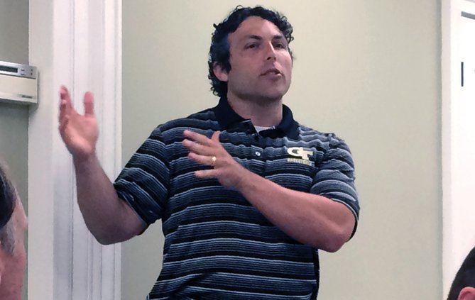Georgia Tech men's basketball coach Josh Pastner