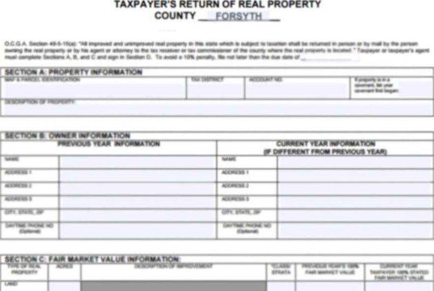 Property Tax Form Blurred 950x600