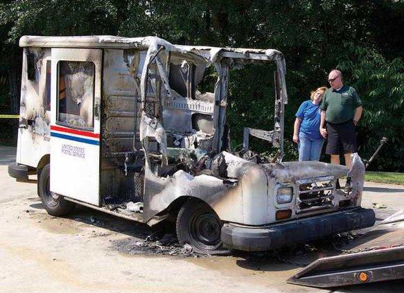 mail truck 6 jd