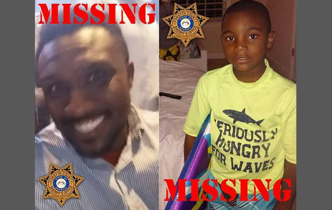 Missing dad and son for web