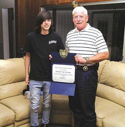 Sheriff award teen