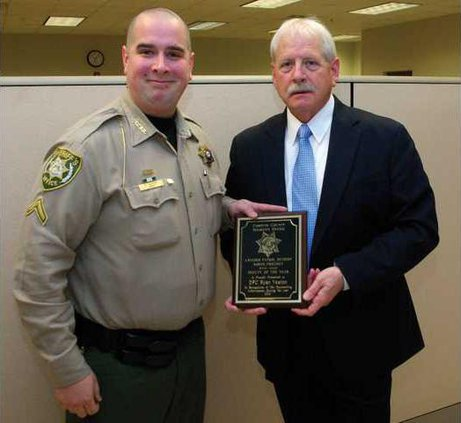 Top deputy for north recognized - Forsyth News