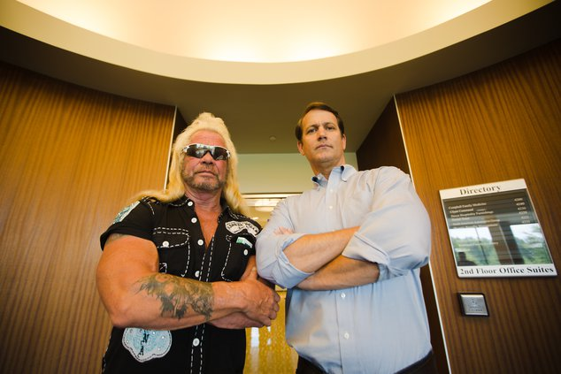 Governor candidate Michael Williams hosts Dog the Bounty