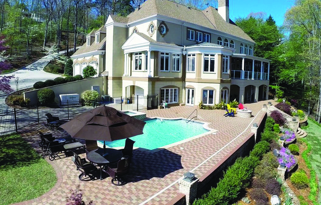 Lake Lanier mansion