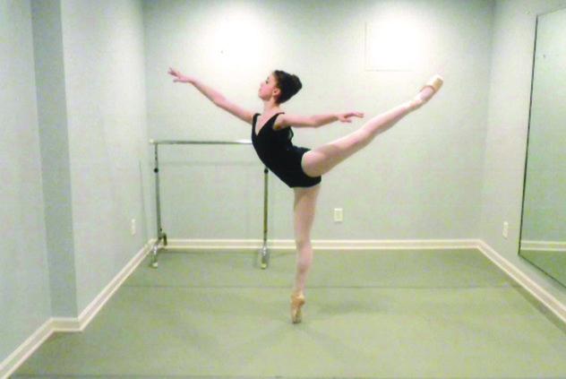 Carrington Moser dancer