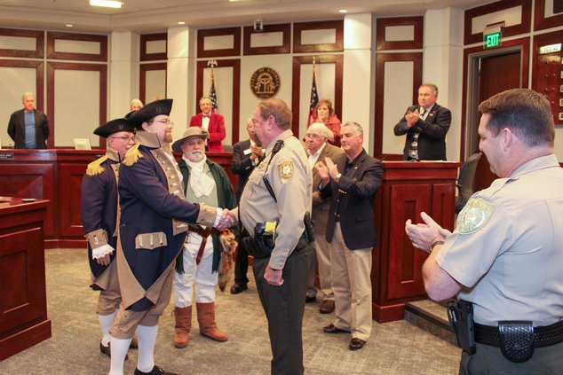 Forsyth County Sheriff's Deputy First Class Jon Beival