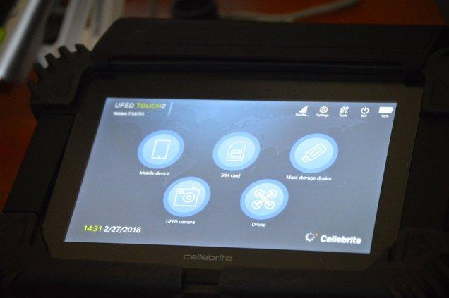 Cellebrite technology