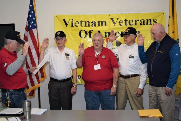 VVA officers