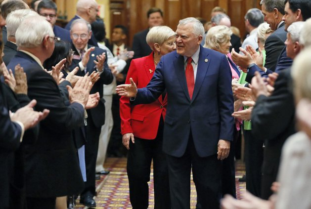 Gov. Nathan Deal and first lady Sandra Deal