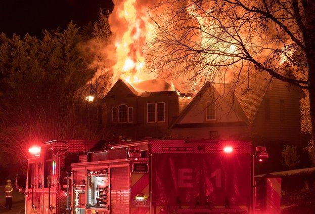 Polo Fields house fire