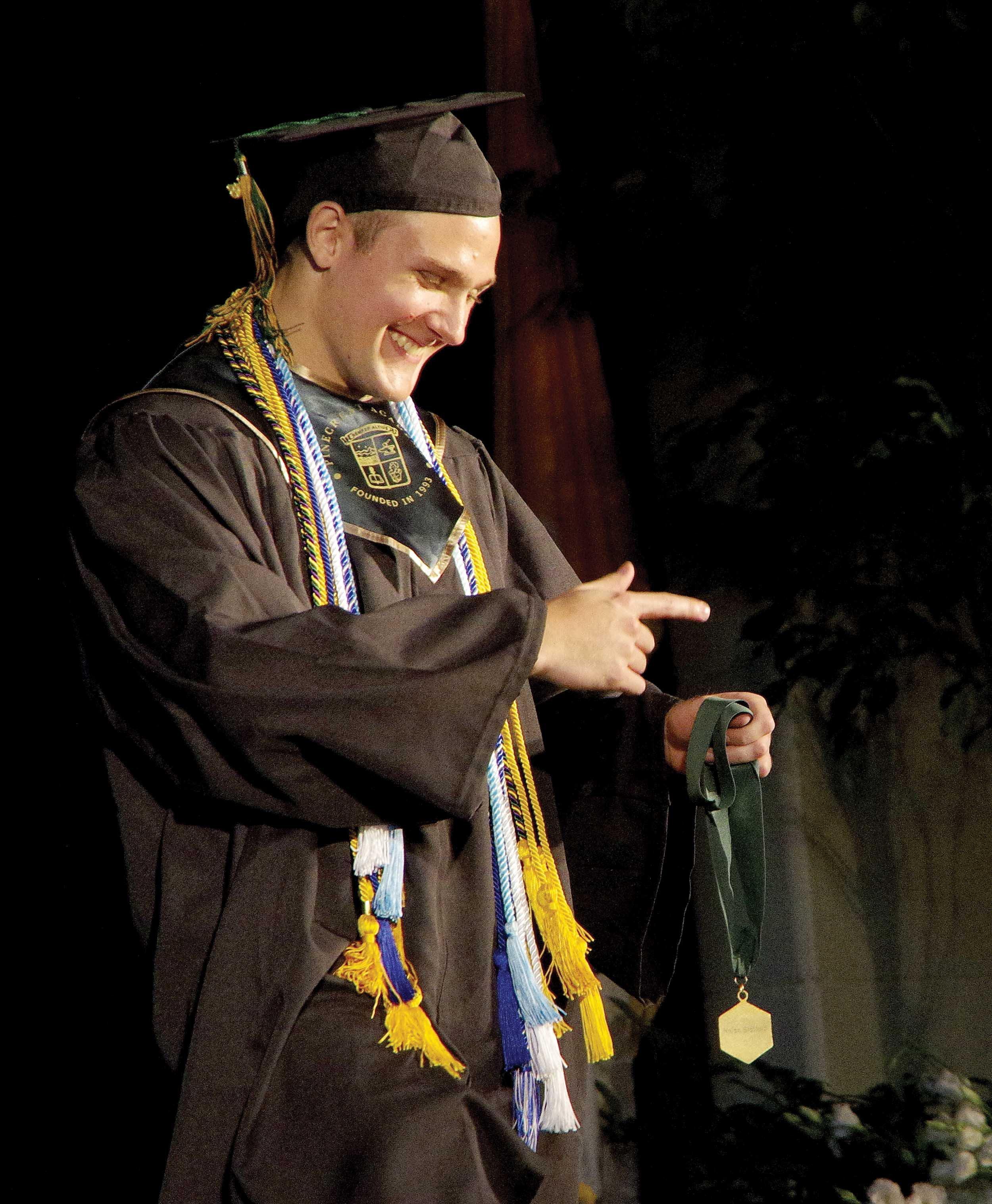 another happy graduate