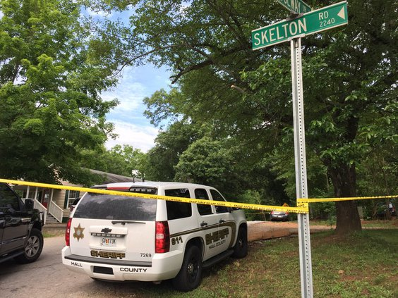 Man fatally shot in Hall County