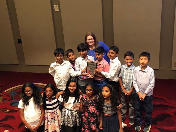 Daves Creek student, team shine at national math competition