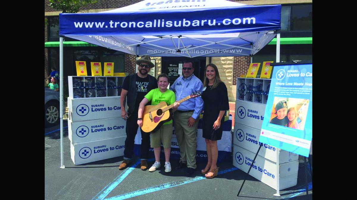 Troncalli Subaru teams up with the Leukemia and Lymphoma