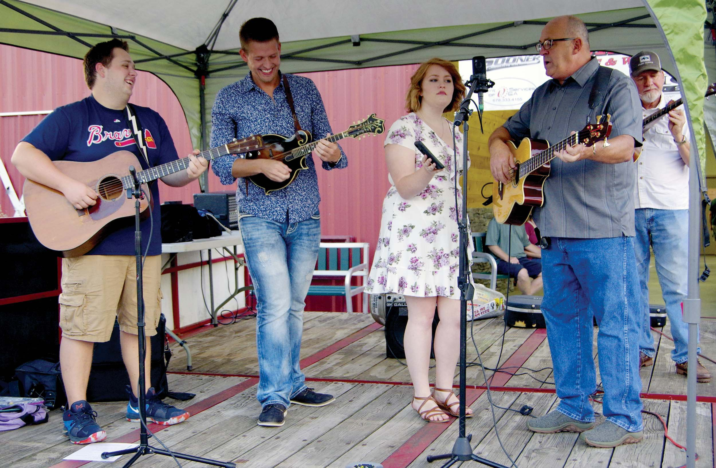 Bluegrass and barbecue
