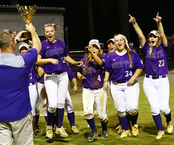 north softball region title 2018