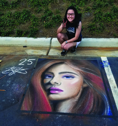 FCN Chalk Art 1 100718