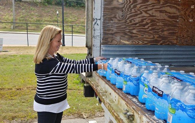 FCN Water Donations Hurricane Michael 102418
