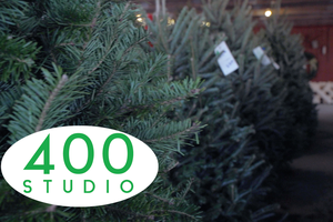 400 Studio: Looking for a live tree this year? Check out these two local spots