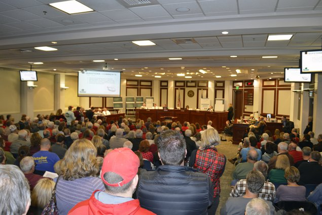 FCN Forsyth County Commission Town Hall Water Treatment Facility 121418