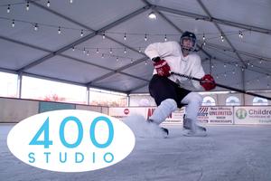 400 Studio:  The Cumming Fairgrounds transformed into a Winter Wonderland