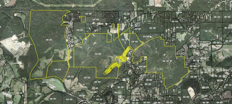How 1,700 acres of north Forsyth land became the center of