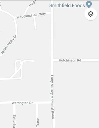 Hutchinson Road closed