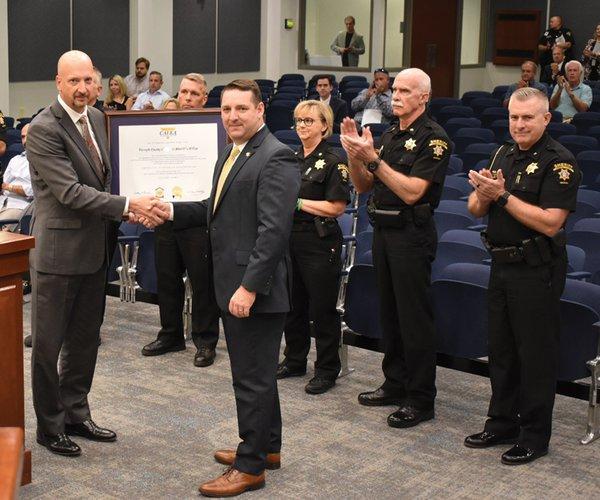 Sheriff accreditation