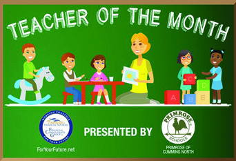 Teacher of the month ICON WEB