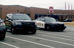 Deputies at FCHS