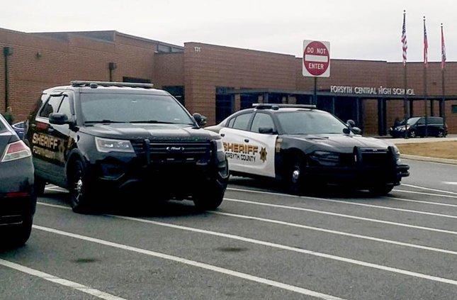 Deputies at FCHS