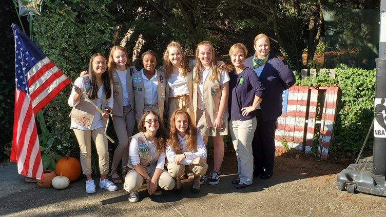 Girl Scout Silver Award